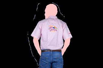 camisa los sarapes espalda