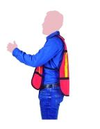 chaleco de seguridad malla lateral