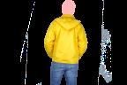 chamarra amarilla espalda