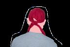 cofia tipo turbante espalda